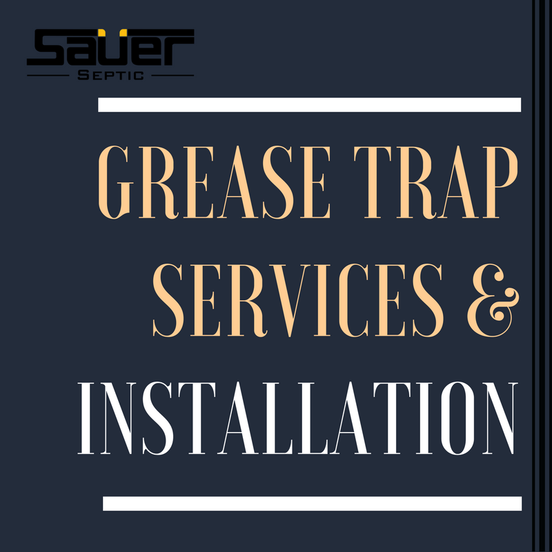 Grease Trap Services & Installation